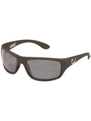 Mustad Γυαλιά Ηλίου Μαύρος Σκελετός, Smoke Φακός με Μάυρο REVO - HP100A-2