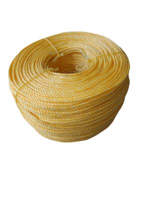 Σχοινί στριφτό P.P. (Κίτρινο)