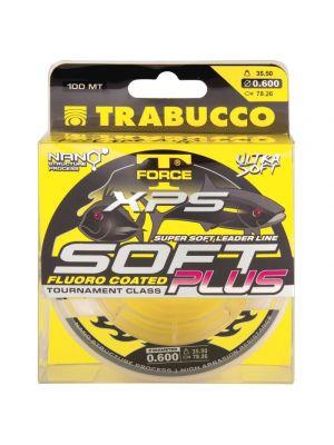 Trabucco T-FORCE XPS SOFT PLUS FLUORO COATED x 100 Μέτρα