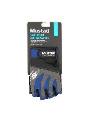 Γάντια με κομμένα δάχτυλα HALF-FINGER CASTING GLOVE GL004 Mustad