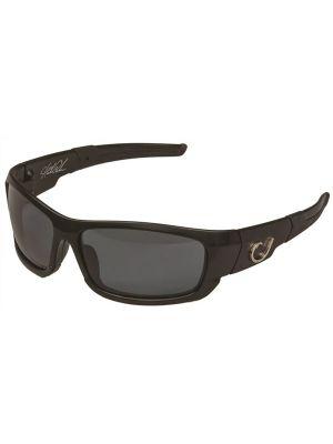 Mustad Γυαλιά Ηλίου Μαύρος Σκελετός, Smoke Φακός με Μάυρο REVO - HP101A-2